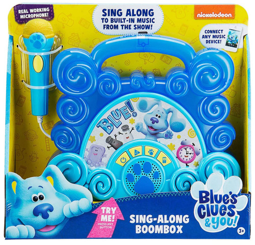 Blue's Clues & You! Sing-Along Boombox Exclusive Toy