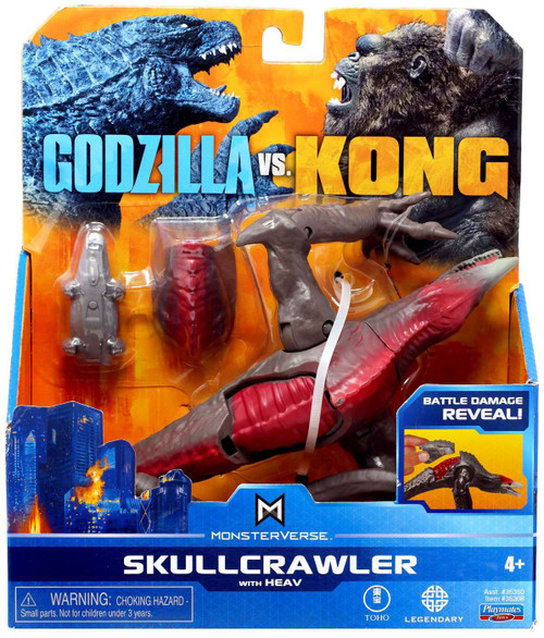 Godzilla vs Kong Monsterverse Skullcrawler Action Figure [with Heav]