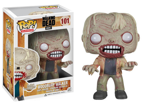 Funko The Walking Dead POP! TV Woodbury Walker Vinyl Figure #101 [Damaged Package]