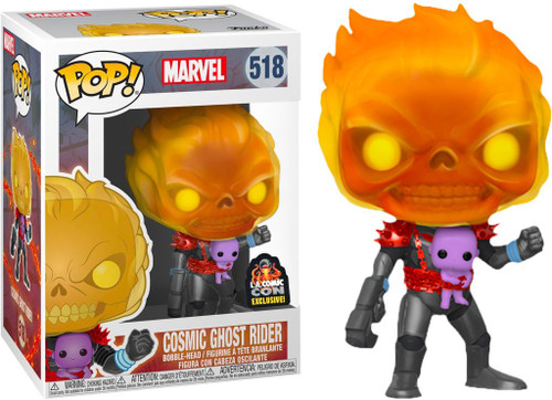 Funko POP! Marvel Cosmic Ghost Rider Exclusive Vinyl Bobble Head #518 [Damaged Package]