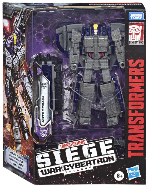 Transformers Generations War for Cybertron: Siege Astrotrain Leader Action Figure [Damaged Package]