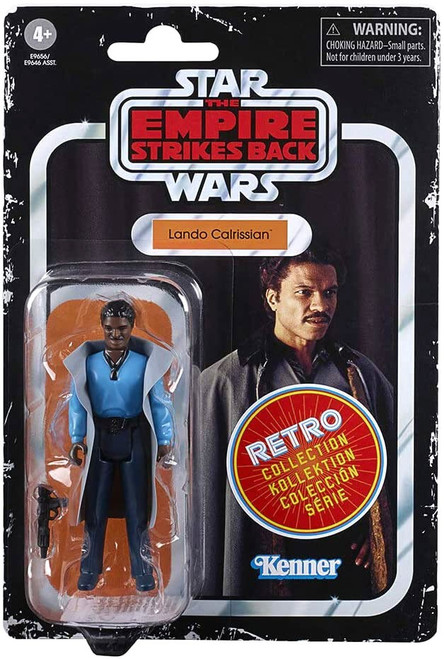 Star Wars The Empire Strikes Back Retro Collection Lando Calrissian Exclusive Action Figure [Damaged Package]