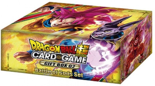 Dragon Ball Super Collectible Card Game Gift Box 02 Battle of Gods Set [6 Booster Packs & 1 Battle Card!]