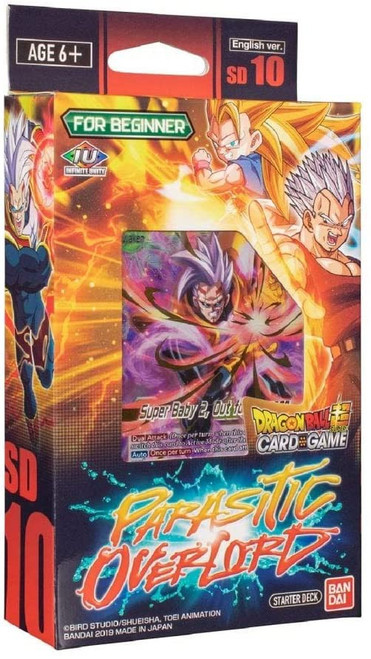 Dragon Ball Super Collectible Card Game SD 10 Parasitc Overlord Starter Deck