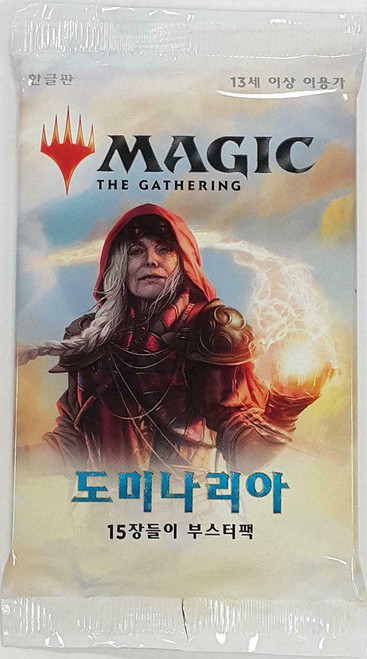 MtG Trading Card Game Dominaria Booster Pack [Korean]