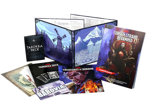 Dungeons & Dragons 5th Edition Curse of Strahd Hardcover Roleplaying Book [Revamped]