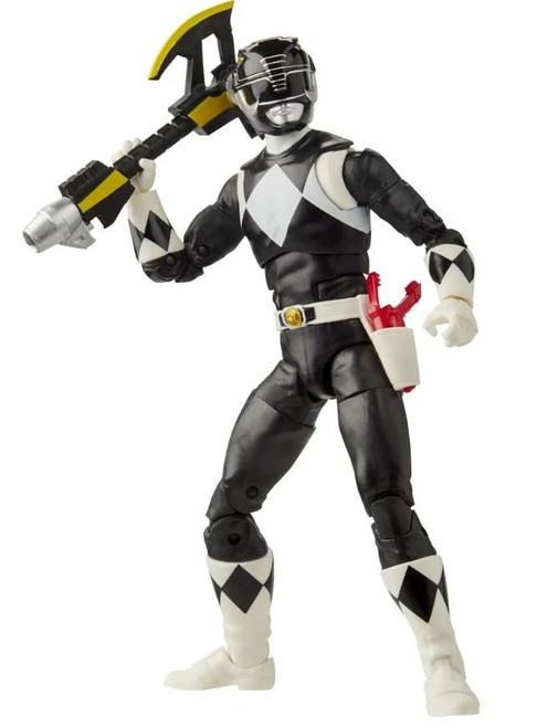 Power Rangers Mighty Morphin Lightning Collection Black Ranger Action Figure [Mighty Morphin]