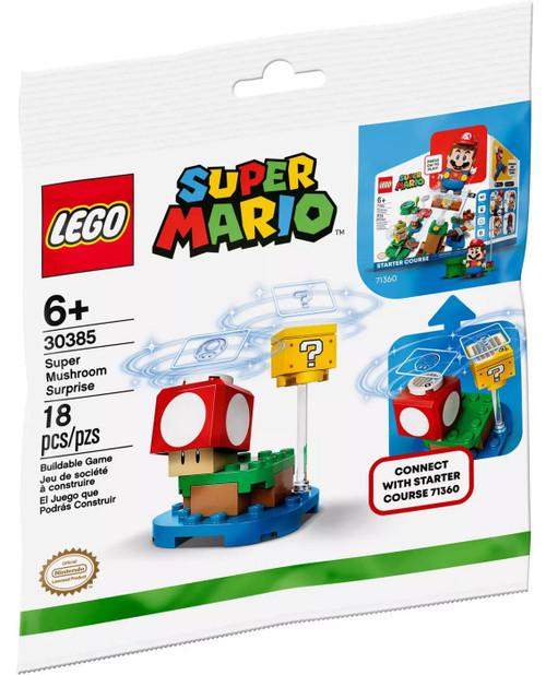 LEGO Super Mario Super Mushroom Surprise Exclusive Expansion Set #30385