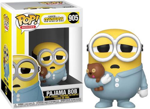 Funko Minions The Rise of Gru POP! Movies Pajama Bob Vinyl Figure [Damaged Package]