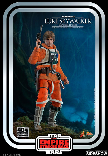 Star Wars The Empire Strikes Back Movie Masterpiece Luke Skywalker Collectible Figure MMS585 [Snowspeeder Pilot] (Pre-Order ships January)