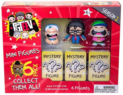 Season 2 FGTeeV Mystery Mini Figure 6-Pack [RANDOM Figures]