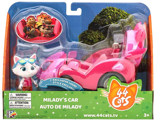 44 Cats Milady's Car Vehicle & Figure