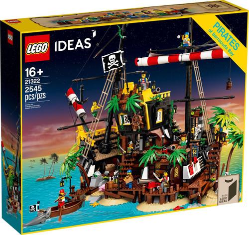 LEGO Ideas Pirates of Barracuda Bay Set #21322