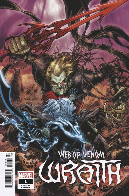 Marvel Web of Venom #1 Wraith Comic Book [Ryp Variant]