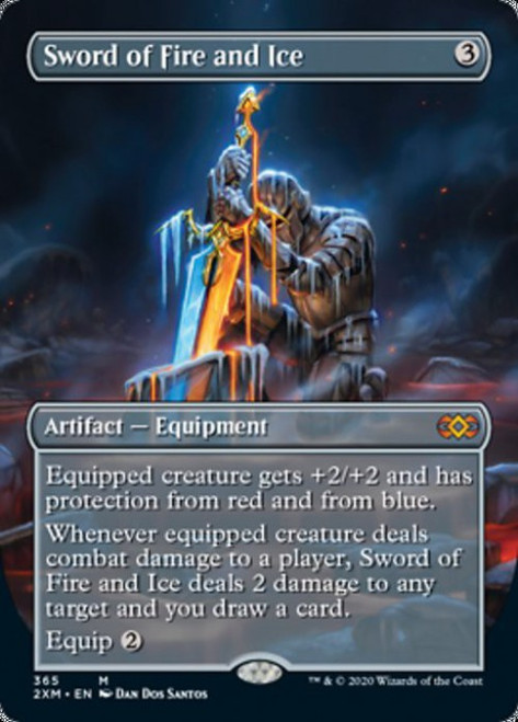 Karn Liberated 333//332 mythic double masters Borderless