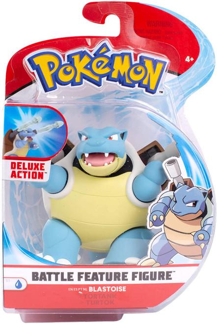 Pokemon Battle Feature Blastoise Action Figure
