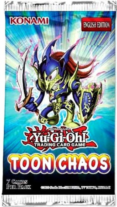 YuGiOh Trading Card Game Toon Chaos Booster Pack [7 Cards]