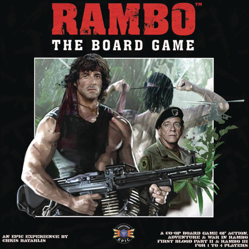 Rambo First Blood Part 2 and Rambo 3 Board Game (Pre-Order ships October)