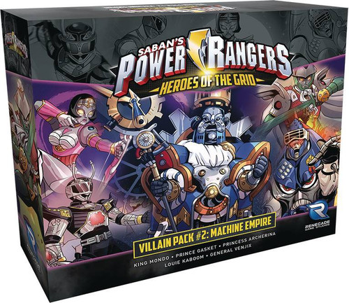 Power Rangers Heroes of the Grid Villain Expansion Pack [#2] (Pre-Order ships June)