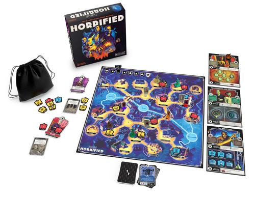 Universal Monsters Horrified Board Game