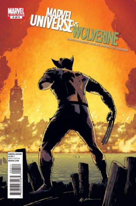 Marvel Universe vs. Wolverine #4 Comic Book