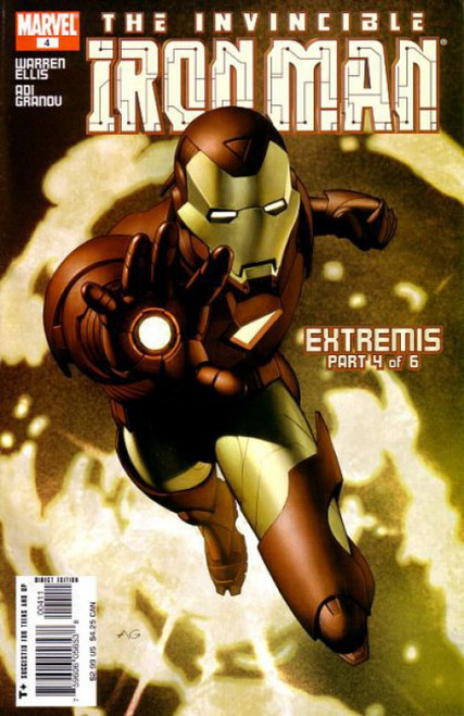 Marvel Iron Man, Vol. 4 #4 Comic Book