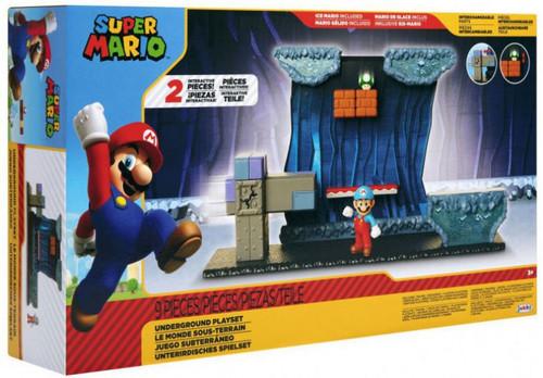 World of Nintendo Super Mario Underground 2.5-Inch Playset
