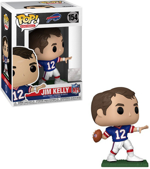 Funko Buffalo Bills POP! NFL Legends Jim Kelly Vinyl Figure #154