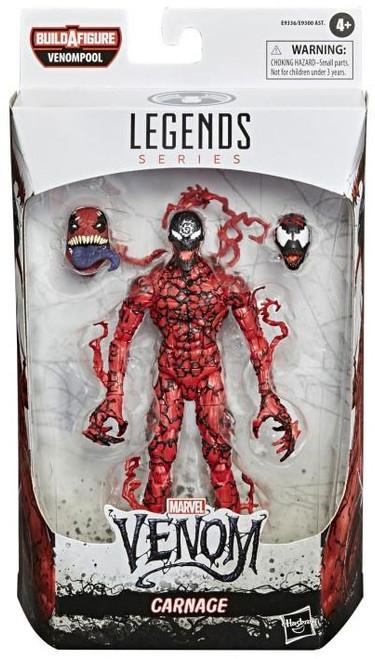 Marvel Legends Venompool Series Carnage Action Figure