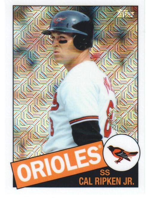 MLB 2020 Topps Series Two Cal Ripken Jr. Single Sports Card #85C-4 [1985 Topps Chrome Silver Pack]
