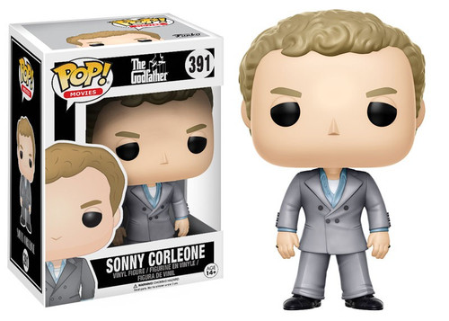 Funko The Godfather POP! Movies Sonny Corleone Vinyl Figure #391 [Damaged Package]