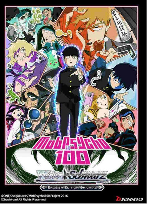 Weiss Schwarz Mob Psycho 100 Booster Box [20 Packs]