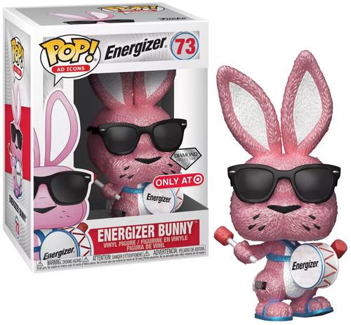 Funko POP! Ad Icons Energizer Bunny Exclusive Vinyl Figure [Diamond Collection]
