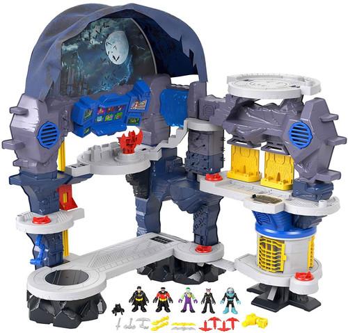 Fisher Price DC Super Friends Imaginext Super Surround Batcave Playset
