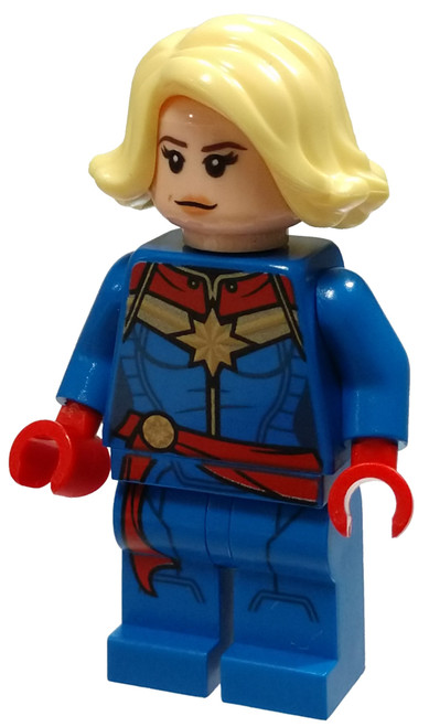 LEGO Marvel Super Heroes Avengers Captain Marvel Minifigure [Loose]