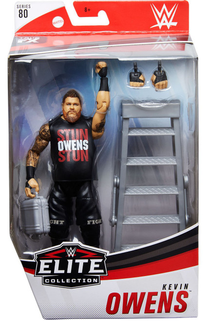 WWE Wrestling Elite Collection Series 80 Kevin Owens Action Figure (Pre-Order ships January)