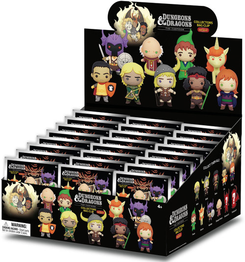 3D Figural Keyring Dungeons & Dragons Series 2 Mystery Box [24 Packs]