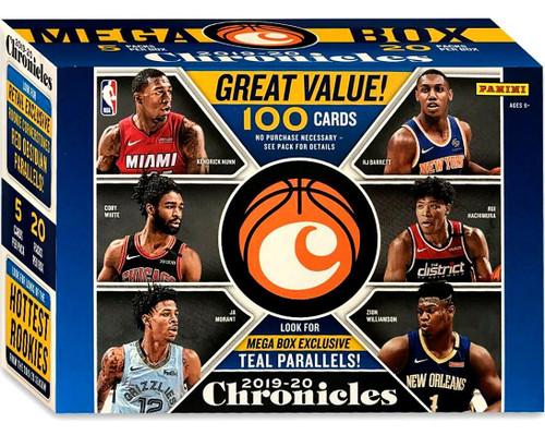 NBA Panini 2019-20 Chronicles Basketball Trading Card MEGA Box [20 Packs]