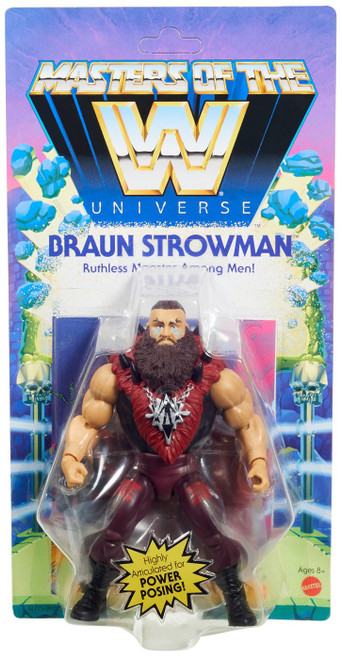 WWE Wrestling Masters of the WWE Universe Braun Strowman Action Figure