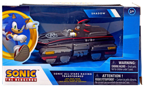 Sonic The Hedgehog All Stars Racing Transformed Pullback Racers Shadow Vehicle