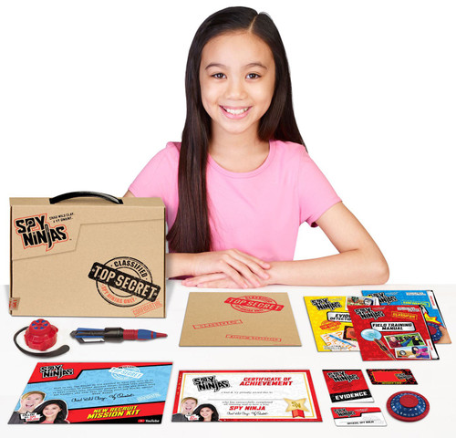 Spy Ninjas New Recruit Mission Kit Playset