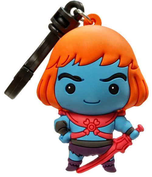 Masters of the Universe 3D Figural Bag Clip Series 1 Faker Keychain [Loose]