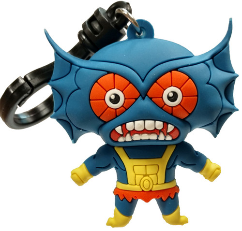 Masters of the Universe 3D Figural Bag Clip Series 1 Mer-Man Keychain [Loose]