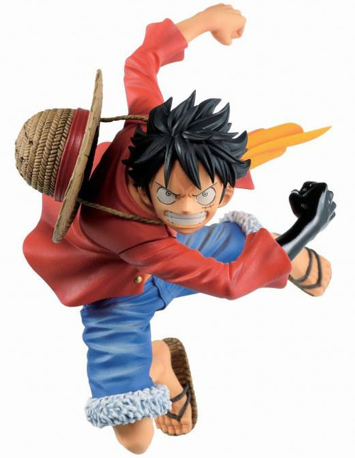 One Piece Ichibansho Monkey D Luffy 5.5-Inch Statue [Dynamism of Ha]