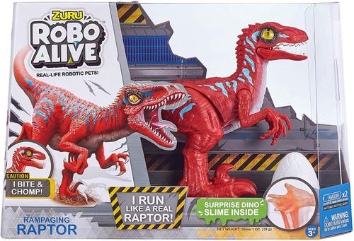 Robo Alive Rampaging Raptor Robotic Pet Figure [Red]