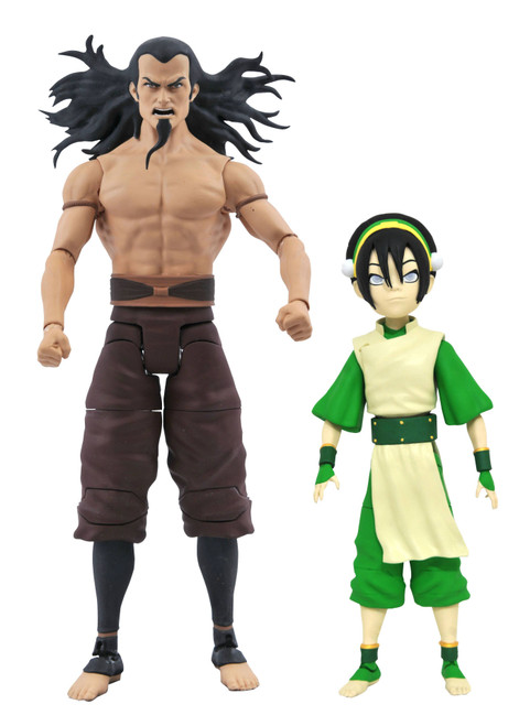 Avatar the Last Airbender Series 3 Toph & Lord Ozai Set of Both Action Figures (Pre-Order ships January)