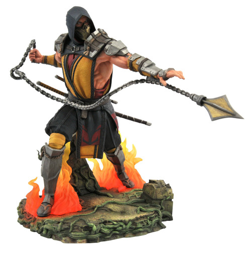 Mortal Kombat 11 Gallery Scorpion 9-Inch Collectible PVC Statue (Pre-Order ships July)