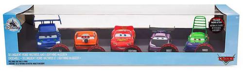 Disney / Pixar Cars Cars 3 Pull 'N' Race Delinquent Road Hazards & Lightning McQueen Exclusive Diecast Car 5-Pack