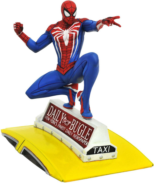 Marvel Gallery PS4 Spider-Man 9-Inch PVC Figure Statue [On Taxi] (Pre-Order ships May)