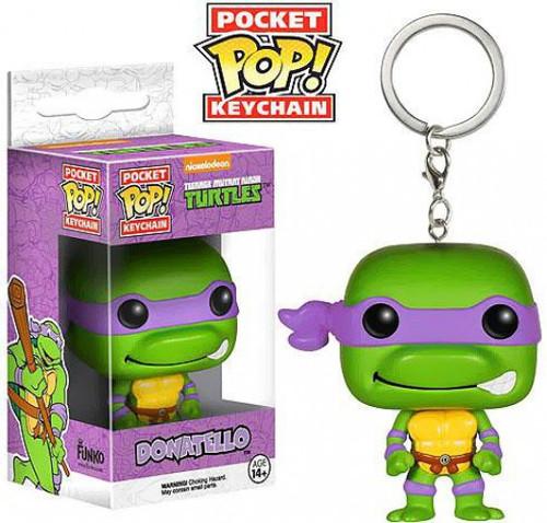 Funko Teenage Mutant Ninja Turtles Pocket POP! TV Donatello Keychain [Loose]